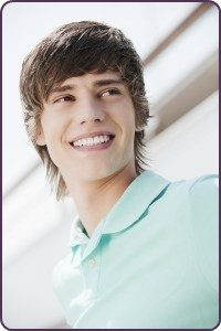 An Invisalign Teenage Boy